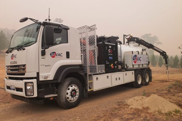 SEVAC Seymour Vacuum Truck Service Wagga - Griffith